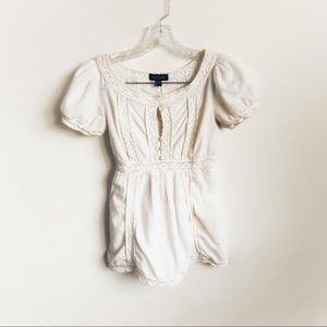 3 for $25 Bebe Embroidered Blouse